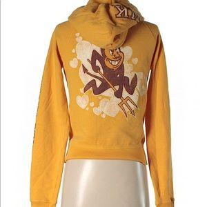 PINK Arizona State zip up sweatshirt